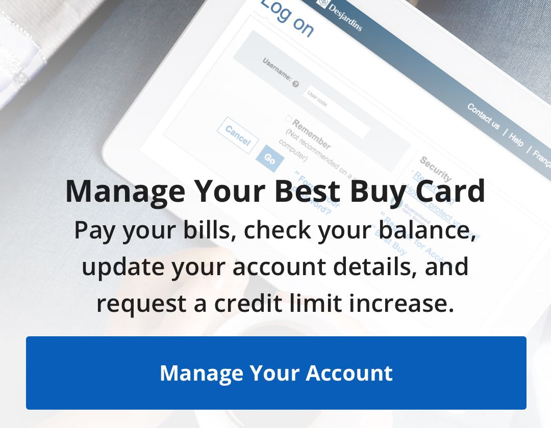 Best Buy Credit Card | Best Buy Canada