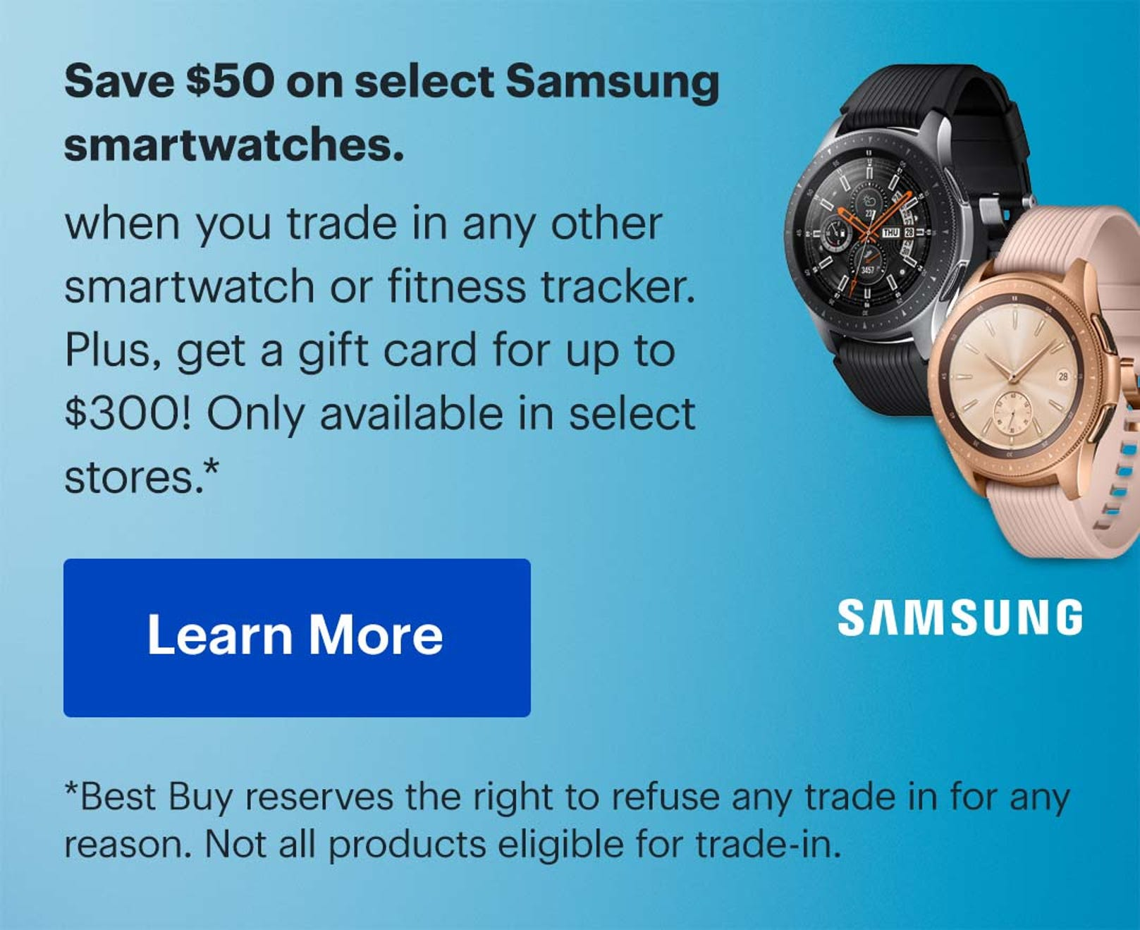 Samsung Galaxy Watch 46mm Smartwatch with Heart Rate Monitor